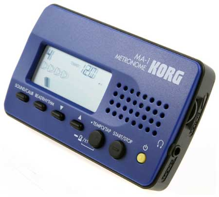 the purpose of a metronome is to keep time - korg