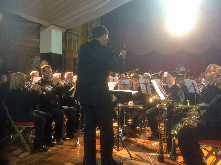 brass band spring festival blackpool