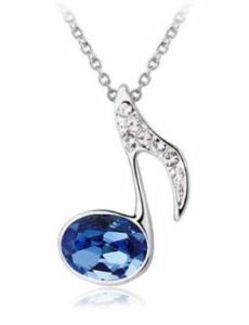 Blue-Music-Note-Necklace