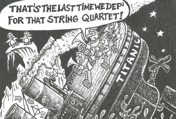 Titanic Brass Quartet