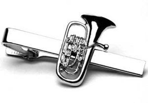 Euphonium-Tie-Clip-Tie-Slide