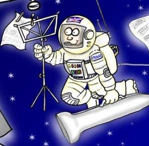 Major tim peake trombonist and astronaut