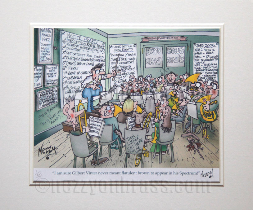 Win A Signed Limited Edition Cartoon Print by Nezzy in the August 2018 Prize Draw - 2 prints up for grabs!