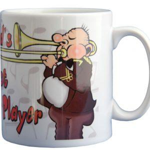 Mug - The Worlds Greatest Trombone Player - Male