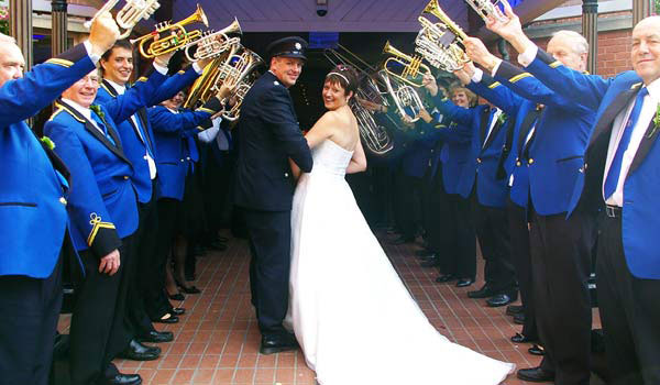 waltham st lawrence silver band wedding