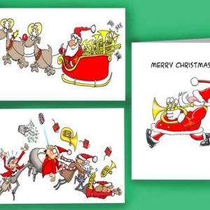 Christmas Card Pack of 6 Cards