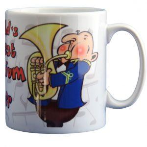 Mug - The Worlds Greatest Euphonium Player - Male