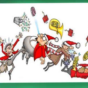 Christmas Card - Brass Band Carols