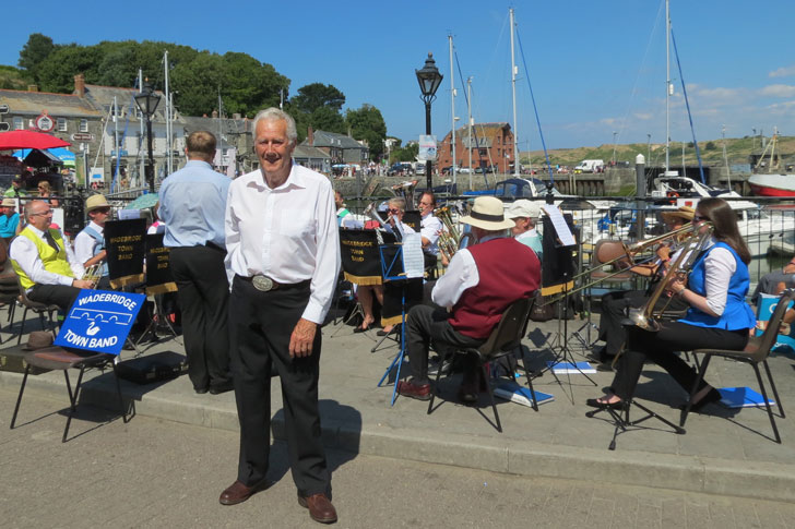 wadebridge town band in concert padstowe august 2018
