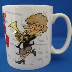 Mug - The Worlds Greatest Female Baritone Player