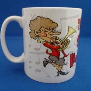 Mug - The Worlds Greatest Horn Player - Female