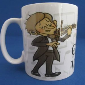 Mug - The World's Greatest Violinist - Male