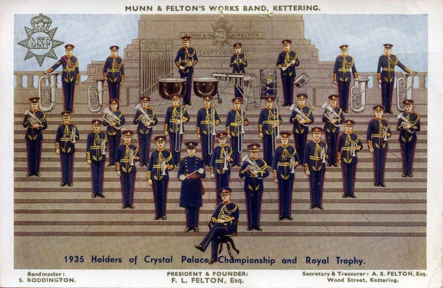 munn and feltons works band stanley boddington