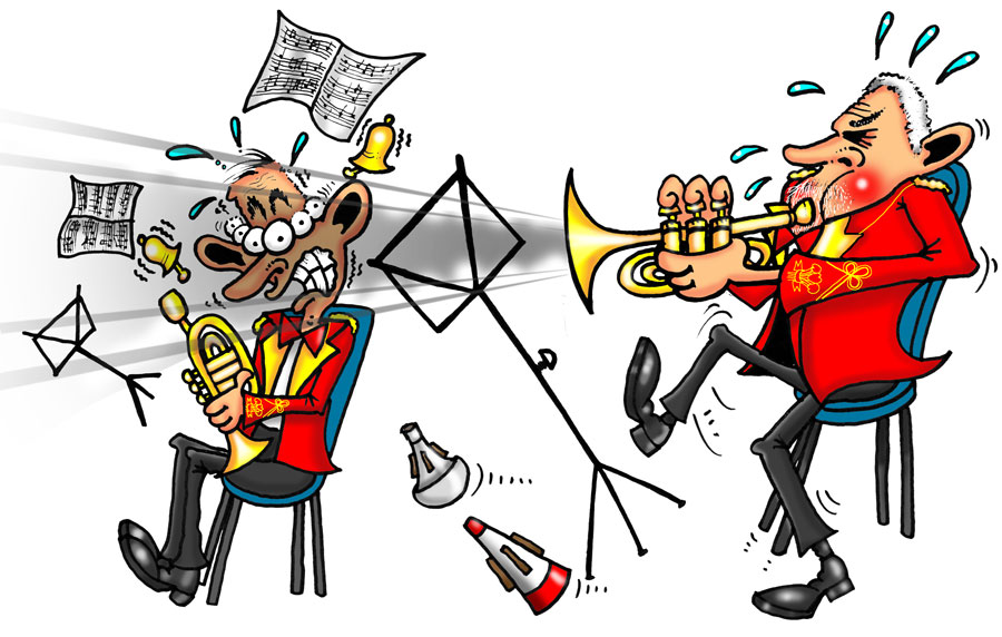 Tinnitus…The bell tree of the ears! cory band cartoon