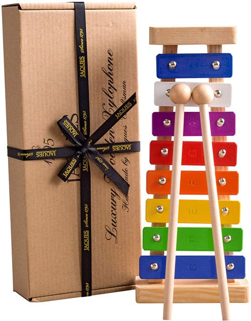 Gift wrapped xylophones by jaques of london