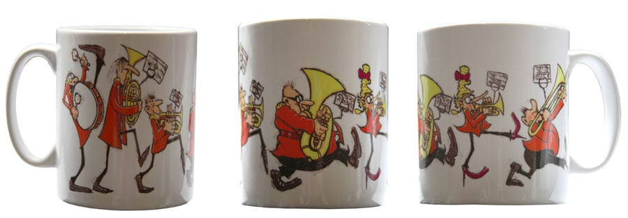 Win a 'Marching Band mug' by Nezzy in the August 2019 Prize Draw.  There will be two lucky winners and the draw will take place on 31st August 2019. To enter simply click on the image above and sign up to the Nezzyonbrass Newsletter